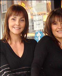 Tracey Fine and Georgie Tarn