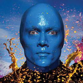 Blue Man Group Headshot