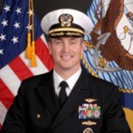 Captain Peter A. Garvin, USN Headshot