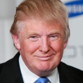 Donald Trump Headshot