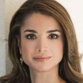 Queen Rania Al Abdullah Headshot