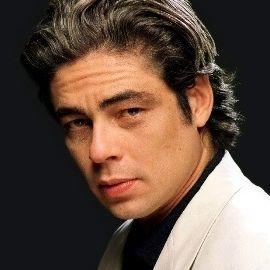 Benicio Del Toro Headshot