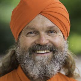 "Dada Nabhaniilananda - ""The Monk Dude"" Headshot"