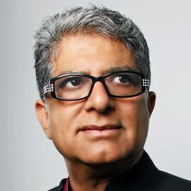 Deepak Chopra Headshot
