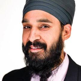 Simran Jeet Singh Headshot