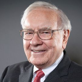 Warren Buffett Headshot