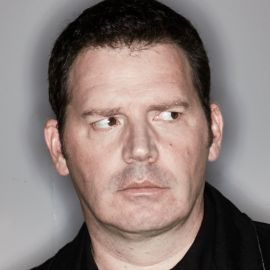 Colin Mochrie and Brad Sherwood Headshot