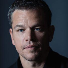 Matt Damon Headshot