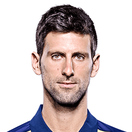 Novak Djokovic Headshot
