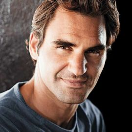 Roger Federer Headshot