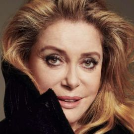 Catherine Deneuve Headshot