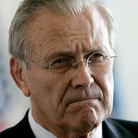 Donald Rumsfeld Headshot